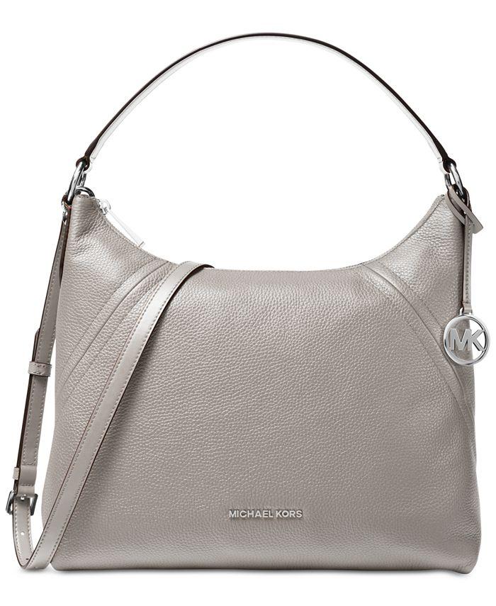 Michael Kors - Aria Pebble Leather Shoulder Bag