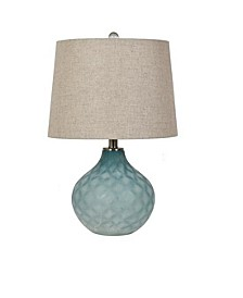 "Collection 22"" Glass Table Lamp"