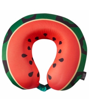 Bon Voyage Watermelon Memory Foam Travel Neck Pillow