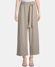 ECI Tie-Waist Wide-Leg Pants
