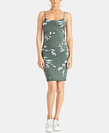 Lourdes Twist-Back Floral Dress