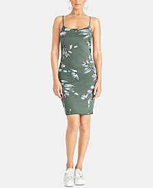 RACHEL Rachel Roy Lourdes Twist-Back Floral Dress
