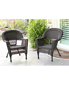 Wicker Chair - Set of 2