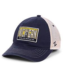Zephyr Michigan Wolverines Vista Mesh Snapback Cap