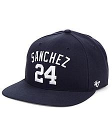 Gary Sanchez New York Yankees Player Snapback Cap