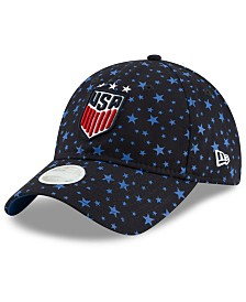 New Era Women's USA National Team Starry Vize 9TWENTY Strapback Cap