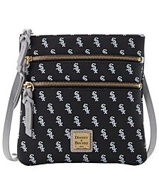 Chicago White Sox North South Triple Zip Purse