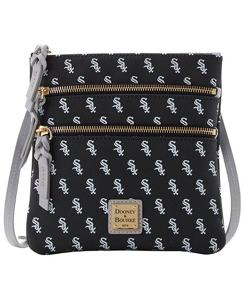 Dooney & Bourke Chicago White Sox North South Triple Zip Purse