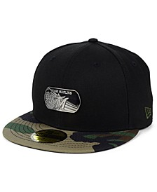 Miami Marlins Dog Tag 59FIFTY-FITTED Cap