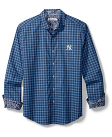 Tommy Bahama Men's New York Yankees Competitor Button Up Shirt