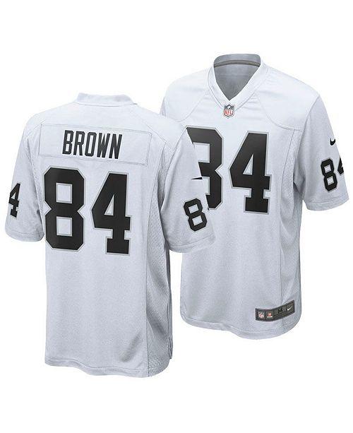 Nike Men's Antonio Brown Oakland Raiders Game Jersey