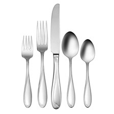 Cresta 90-Pc Flatware Set, Service for 12