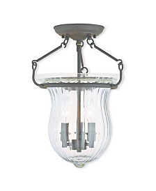 CLOSEOUT! Livex   Andover 3-Light Ceiling Mount