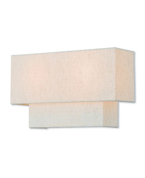 Livex Claremont 2-Light Small Wall Sconce