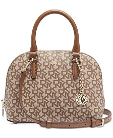 DKNY Bryant Dome Logo Satchel, Created for Macy's