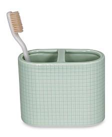 DKNY Fine Grid Toothbrush Holder