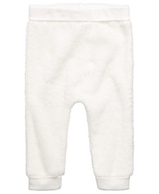 Baby Boys & Girls Faux-Sherpa Jogger Pants, Created for Macy's