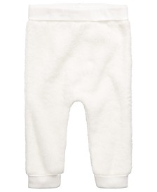 First Impressions Baby Boys & Girls Faux-Sherpa Jogger Pants, Created for Macy's