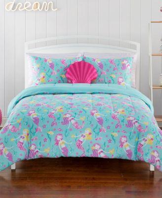 Mermaid Twin 5 Piece Comforter Set