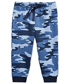 First Impressions Toddler Boys Camo-Print Jogger Pants, Created for Macy's
