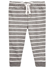 Toddler Boys Striped Jogger Pants, Created for Macy's