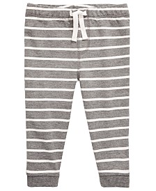 First Impressions Baby Boys Striped Jogger Pants, Created for Macy's