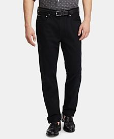 Men's Slim Straight Stretch Sateen Five-Pocket Pants