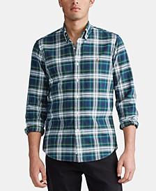 폴로 랄프로렌 Polo Ralph Lauren Mens Classic Oxford Shirt,Evergreen