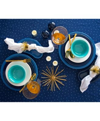 Turquoise 12-Pc. Classic Dinnerware Set, Service for 4