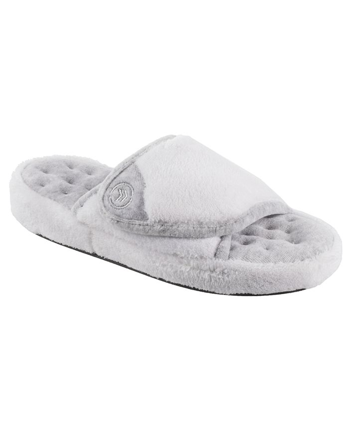 Isotoner Signature - Isotoner Women's Microterry Pillowstep Spa Slide Slipper, Online Only