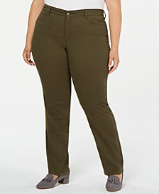 Plus Size Twill Lexington Pants, Created for Macy's