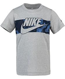 Toddler Boys Camo-Print Cotton T-Shirt