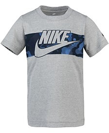 Nike Toddler Boys Camo-Print Cotton T-Shirt