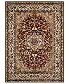"CLOSEOUT! KM Home Area Rug, Princeton Ardebil Red 7'10"" x 10'2"""