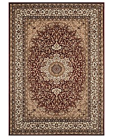 CLOSEOUT! KM Home Area Rug, Princeton Ardebil Red 4' x 5'3""
