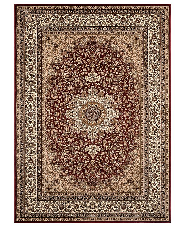 """Kenneth Mink CLOSEOUT! KM Home Area Rug, Princeton Ardebil Red 4' x 5'3"""""""