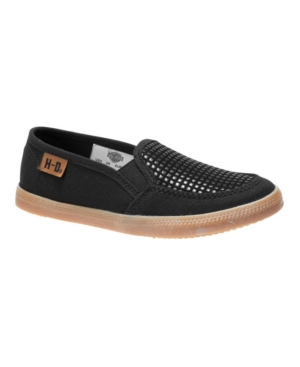Harley Davidson Youth Girls Casual Slip On Shoe