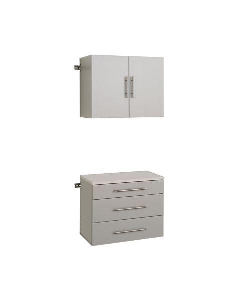 "Prepac Hang-ups 30"" Storage Cabinet Set A - 2 Piece"