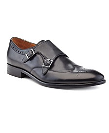 Men's Hand Made Double Monk Strap