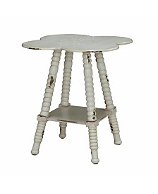 Clover Accent Table, Quick Ship