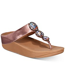 Halo Toe-Thong Sandals