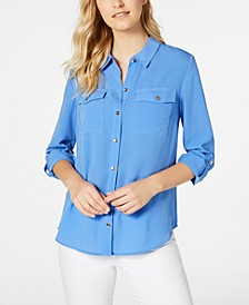 Two-Pocket Shirt, Created for Macy's
