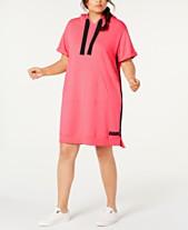 c1c2f563 Calvin Klein Performance Plus Size Hoodie Dress