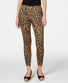 Style & Co Printed Jeggings, Created for Macy's
