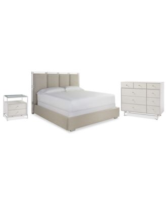 Paradox Bedroom Furniture 3-Pc. Set (Queen Bed, Nightstand & Chest)