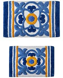 Sunham Tile Medallion 2-Pc. Tufted Bath Rug Set