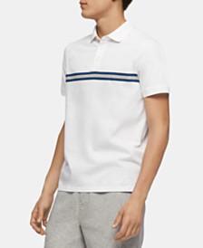 Calvin Klein Men's Engineered Stripe Polo Shirt