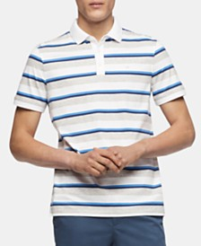 Calvin Klein Men's Stripe Polo Shirt