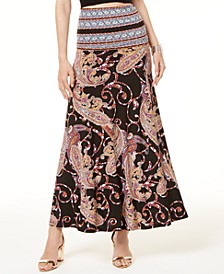 INC Petite Printed Maxi Skirt, Created for Macy's