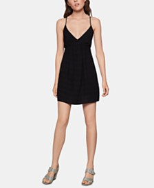 BCBGeneration Empire-Waist Babydoll Dress